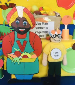 Veg Man Vernon on Marvin's Market Adventure